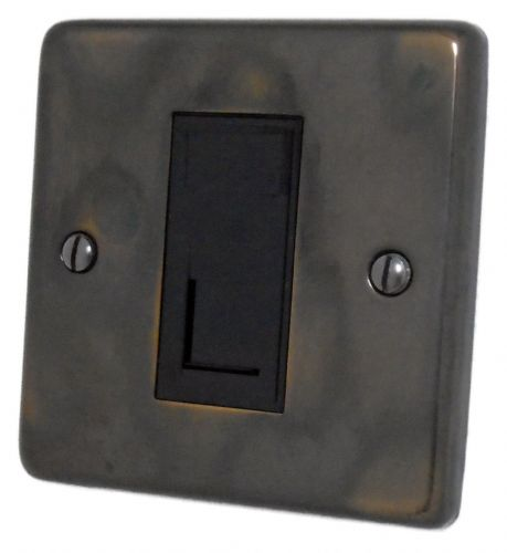 G&H CAN61B Standard Plate Polished Aged Brass 1 Gang RJ45 Cat5e Data Socket